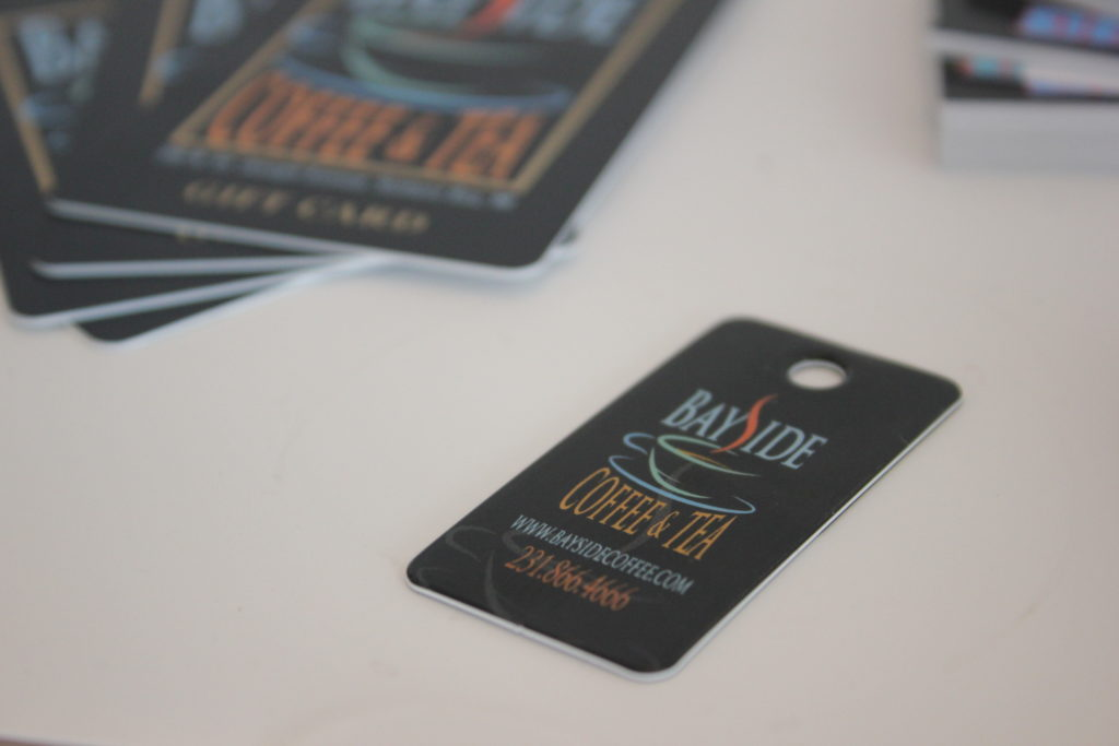 loyalty cards and gift cards availalbe